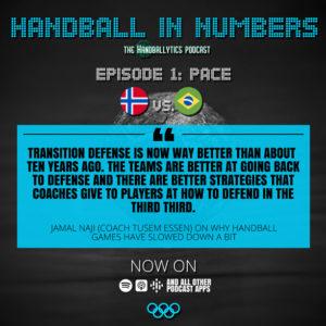 Episode 1: Jamal Naji on Pace and Norway vs. Brazil