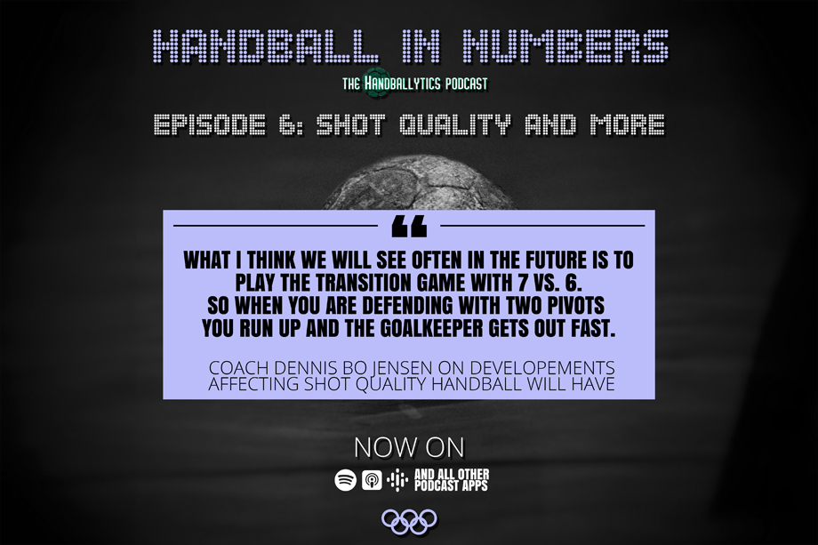 Episode 6: Dennis Bo Jensen on Shot Quality and (Statistical) Differences Between Men's and Women's Handball