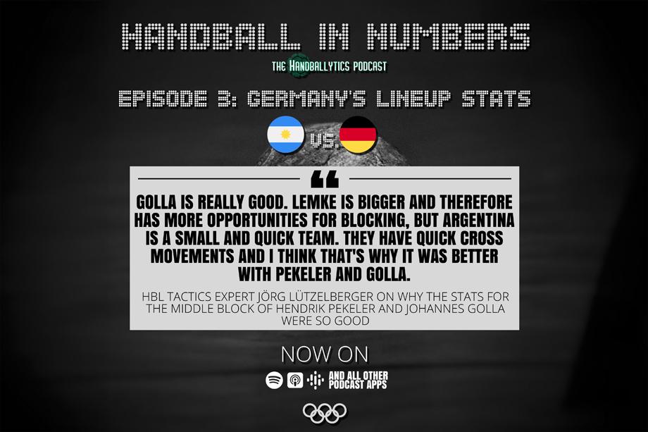 Episode 3: Jörg Lützelberger on Germany's Lineup Stats and Argentina vs. Germany