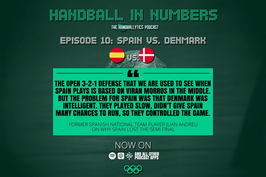Episode 10: Juan Andreu on Spain vs. Denmark