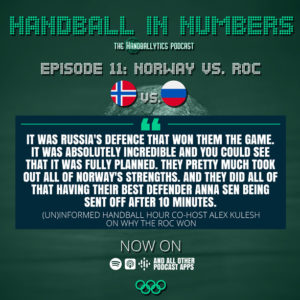 Episode 11: Alex Kulesh on Norway vs. the Russian Olympic Committee