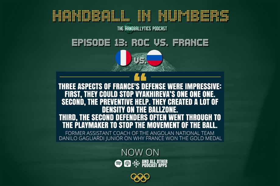 Episode 13: Danilo Gagliardi Junior on the Gold Medal Game between France and the Russian Olympic Committee