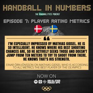 Episode 7: Einar Örn Jónsson and Oliver Brosig on Player Rating Metrics and Denmark vs. Sweden